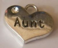 Aunt Personalised Wine Glass Charm - Full Bead Style